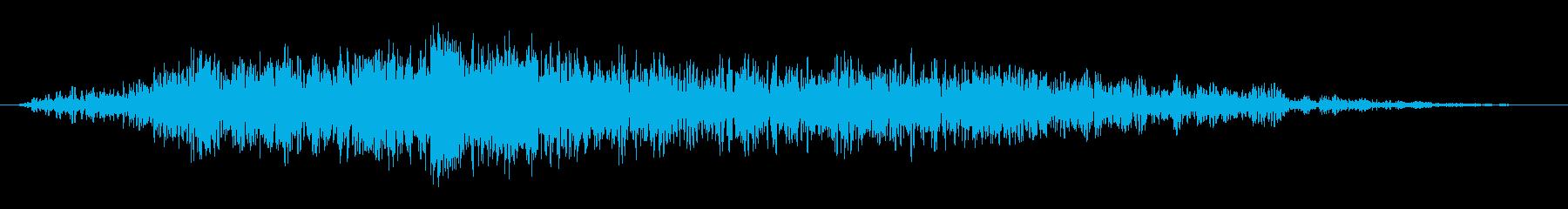 ラトルアンドビッグインパクトスイープ2の再生済みの波形
