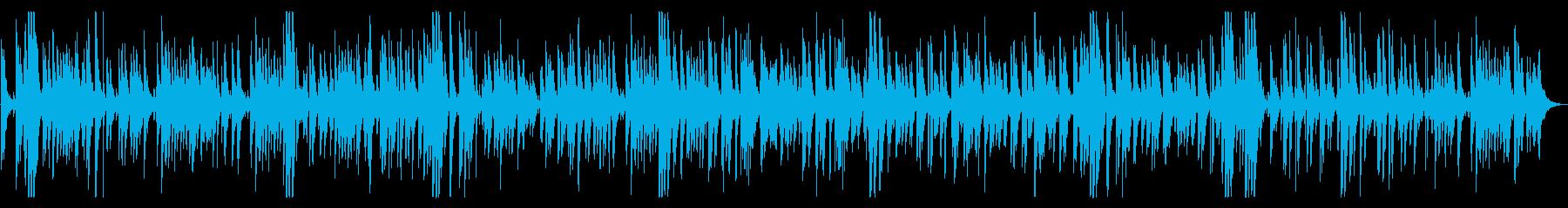 綺麗・お洒落モダンなジャズピアノバラードの再生済みの波形