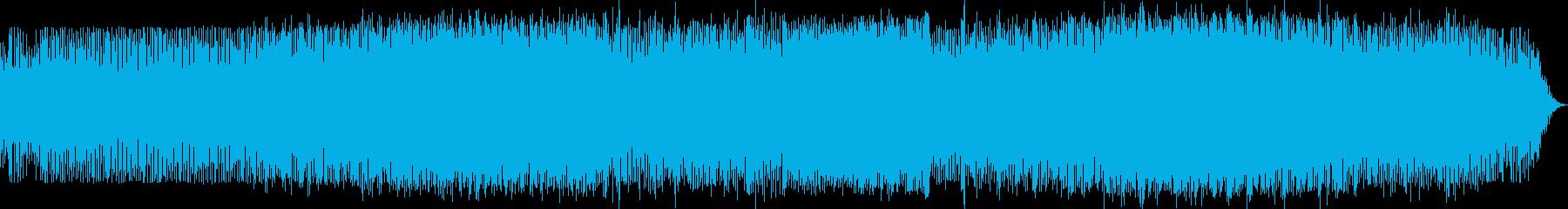 陽気でトロピカルなEDMの再生済みの波形