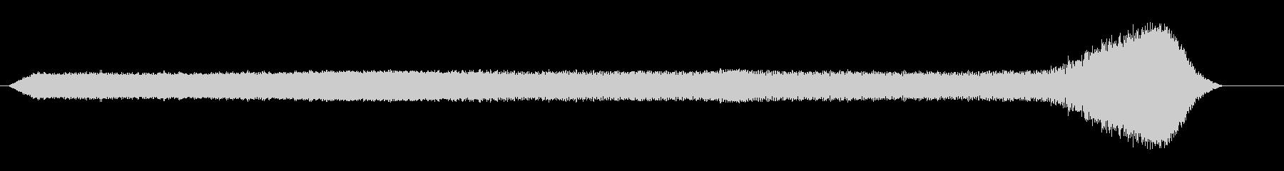 フィードバック付き電気電気ハム2の未再生の波形