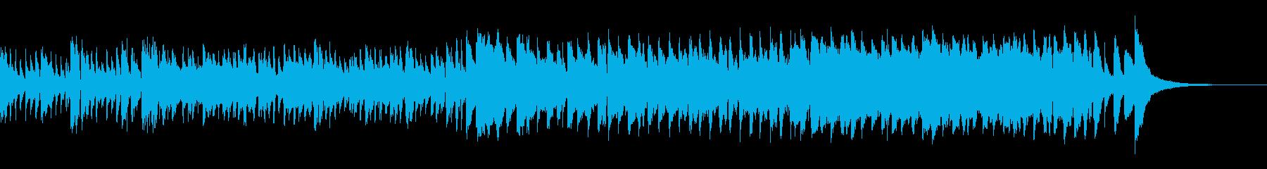 軽快なタンゴ=舞踏会風=小編成オケの再生済みの波形