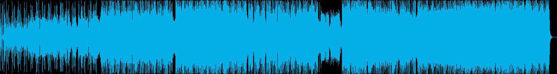 優しいピアンバラードの再生済みの波形