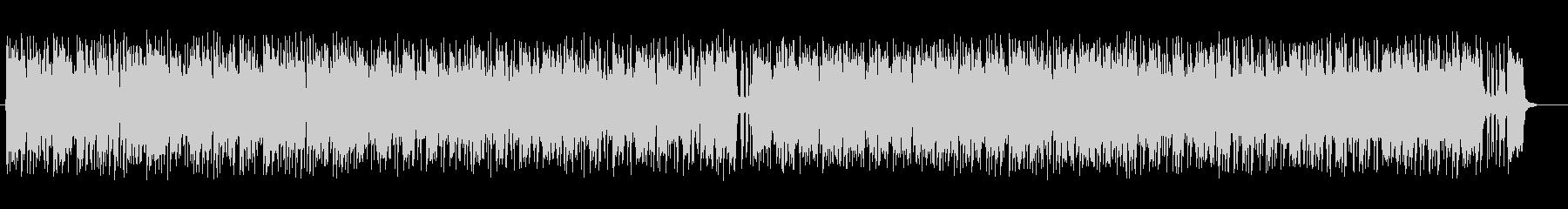 明るく涼しげなシンセサイザーサウンドの未再生の波形