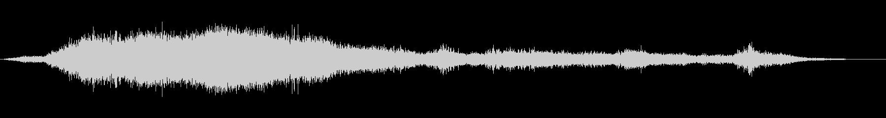 渦巻く中空のフーシュ4の未再生の波形