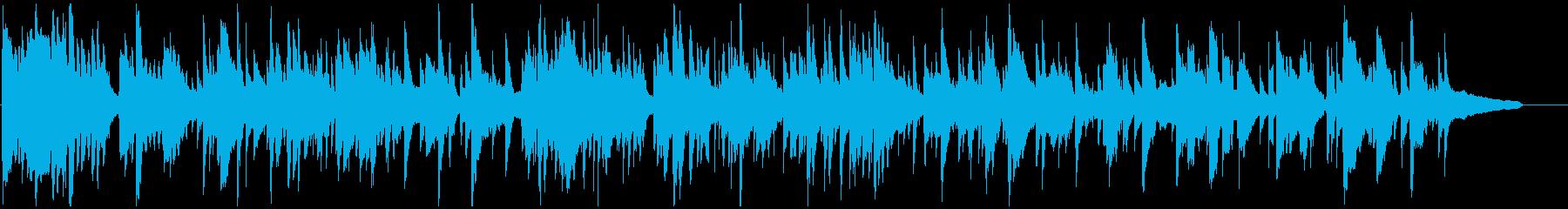 艶めかしいエロいムードの下品なサックスの再生済みの波形
