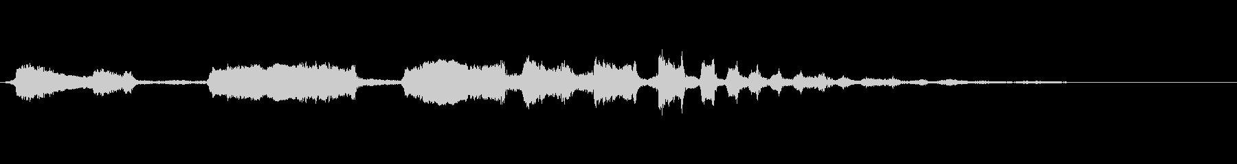 シーガルスコークの未再生の波形