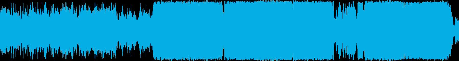 プログレッシブハウス。部族。の再生済みの波形