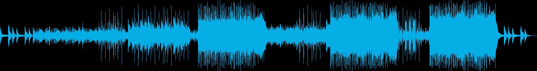 神秘・幻想的でチル、LoFiなビートの再生済みの波形