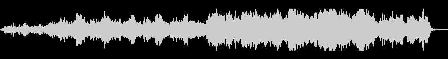 KANTホラー不気味BGM200710の未再生の波形