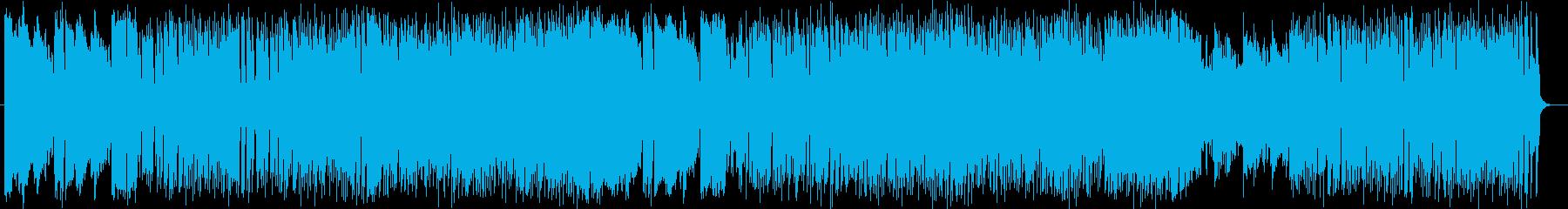 クールでメロディアスなエレキサウンドの再生済みの波形