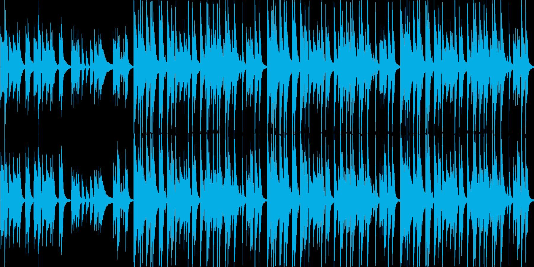 【日常/ドラマ/軽快なポップス】の再生済みの波形