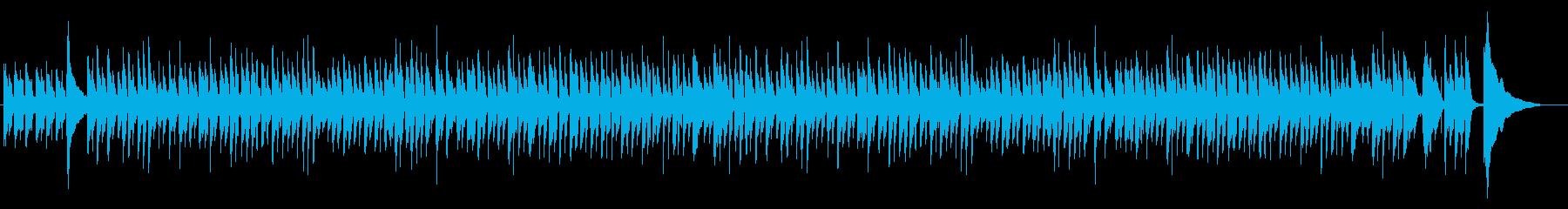 ウクレレの伝統的リスマスタイムソングの再生済みの波形