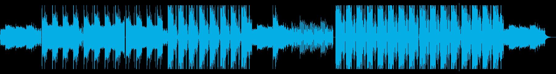 ドラム & ベース ジャングル テ...の再生済みの波形