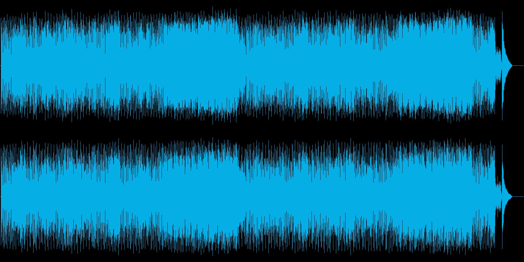 人の温かさを再確認するのどかな和風ポップの再生済みの波形