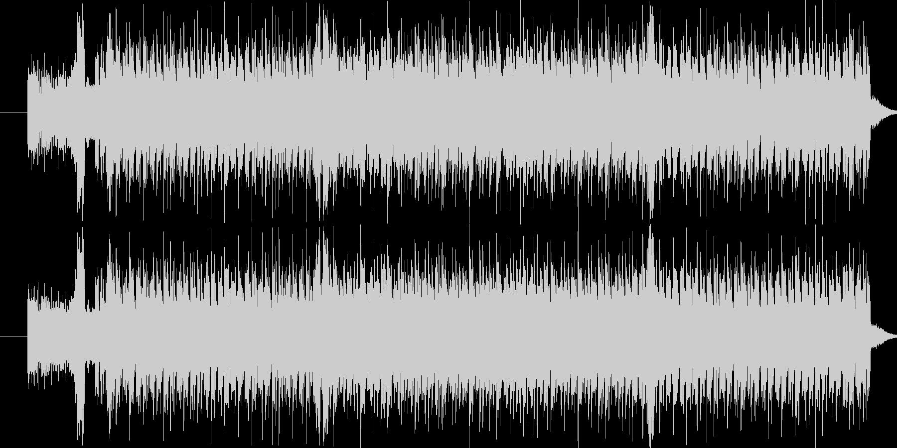 かわいいイメージのエレクトロ風楽曲です。の未再生の波形