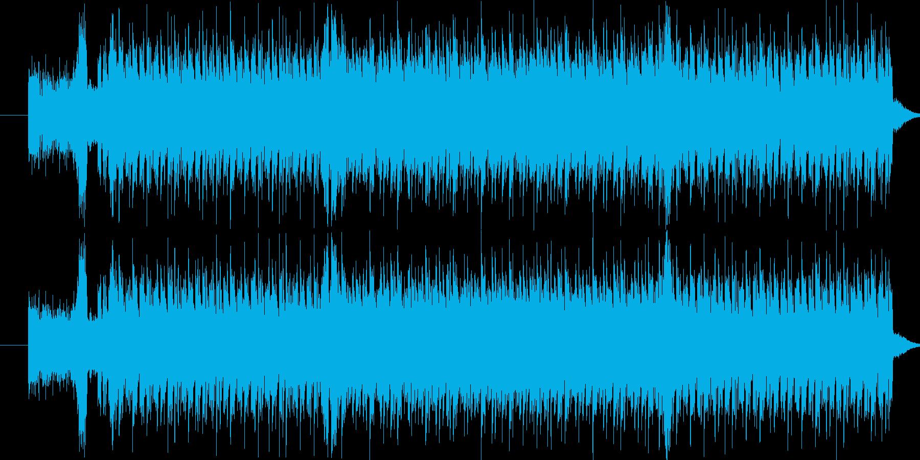 かわいいイメージのエレクトロ風楽曲です。の再生済みの波形