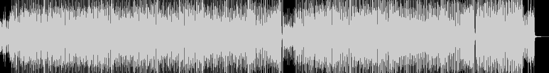 心弾むディズニー風テクノポップ Aの未再生の波形