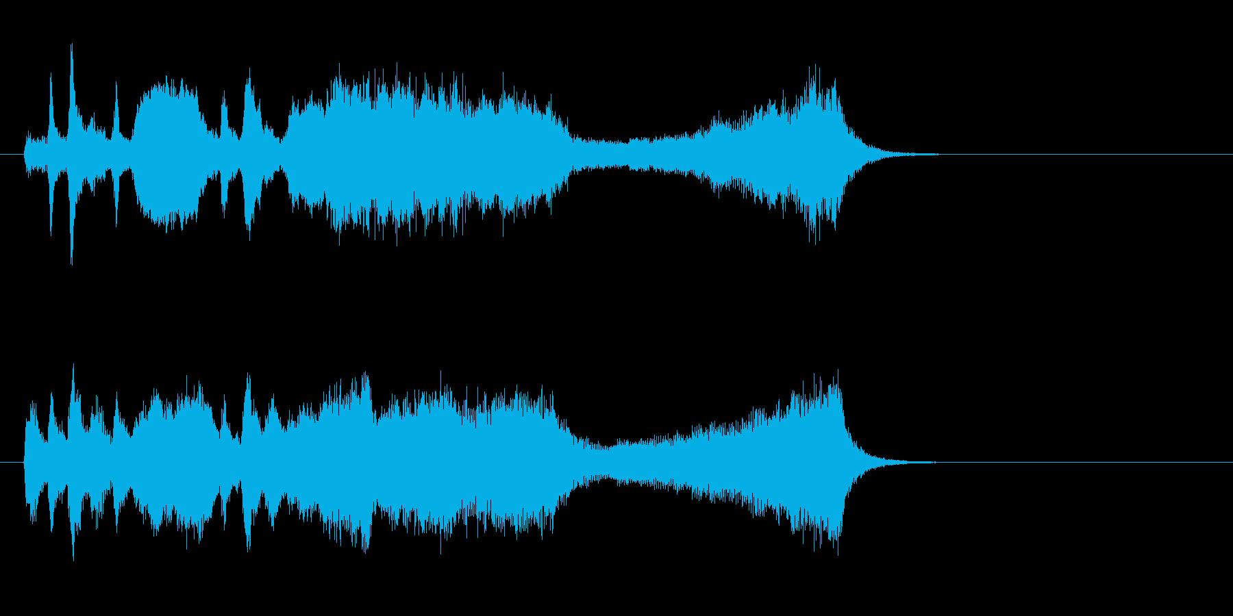 お嬢様学園が舞台のゲーム向け弦楽4重奏の再生済みの波形