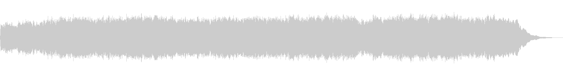 パイプオルガンのフーガ No.9の未再生の波形