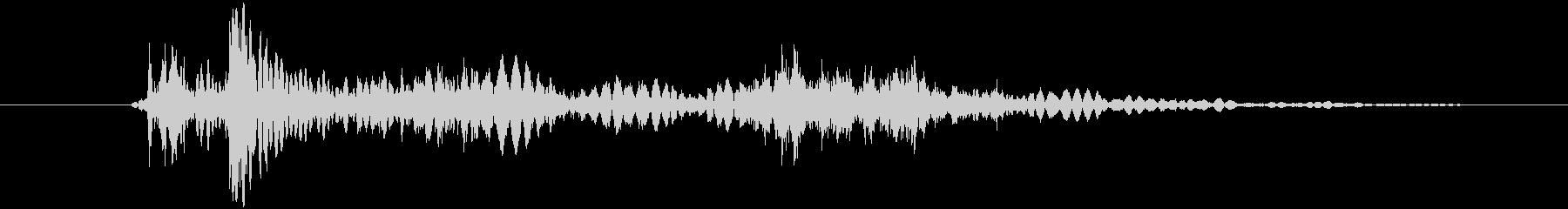 229_池ぽちゃ音2の未再生の波形