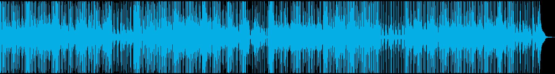 南国リゾートなレゲエポップスの再生済みの波形