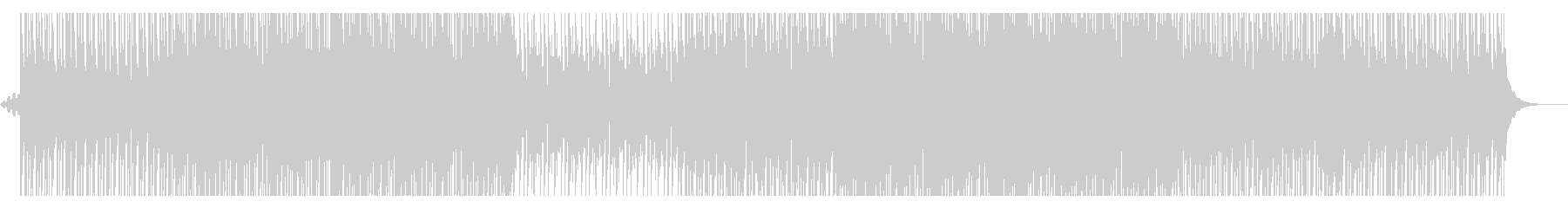 トロピカルハウスの未再生の波形