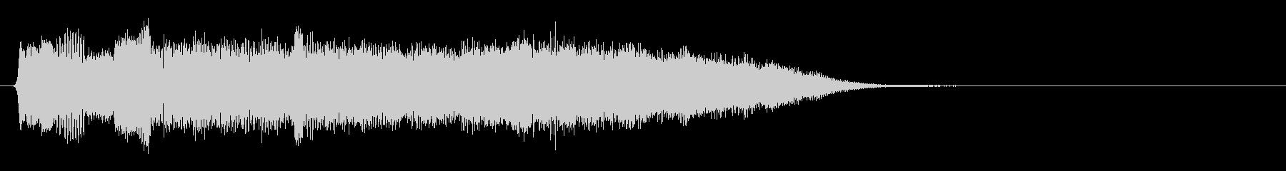 ファンタジー感溢れるジングル3の未再生の波形