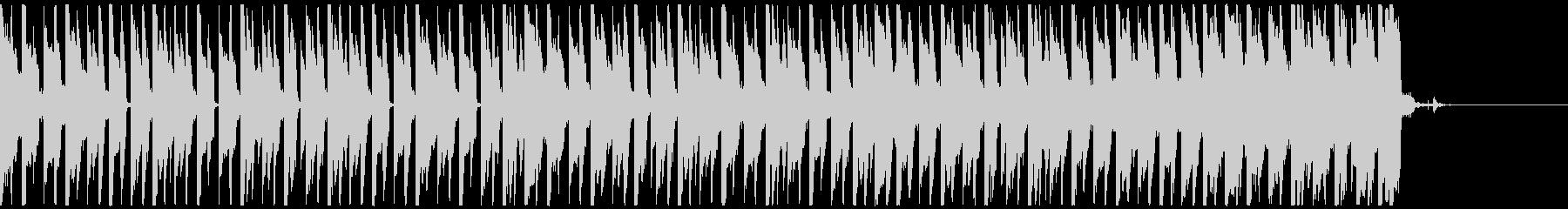 オシャレ・戦闘・スリリングEDM、④の未再生の波形
