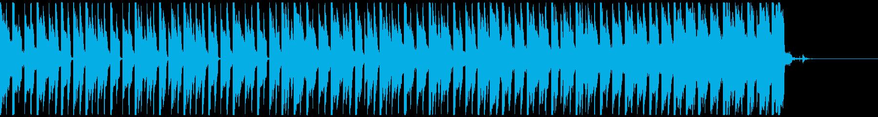 オシャレ・戦闘・スリリングEDM、④の再生済みの波形
