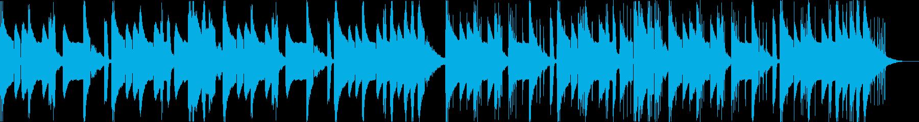 怪しい不気味コミカルなヒップホップdの再生済みの波形