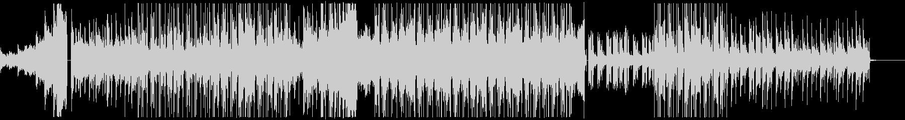 まったりと寛げるHip HopのBGMの未再生の波形
