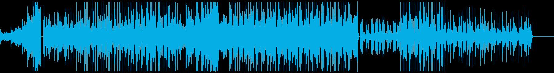 まったりと寛げるHip HopのBGMの再生済みの波形
