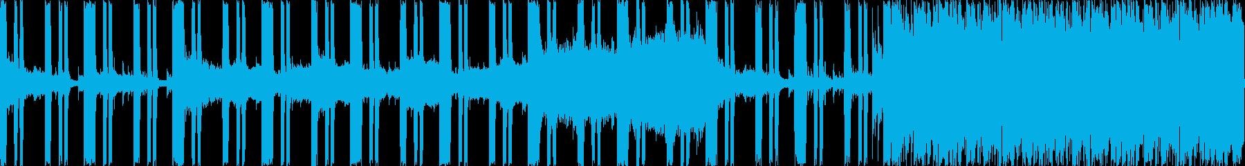 ダンジョンのBGMなど・陰鬱さと暗くジ…の再生済みの波形