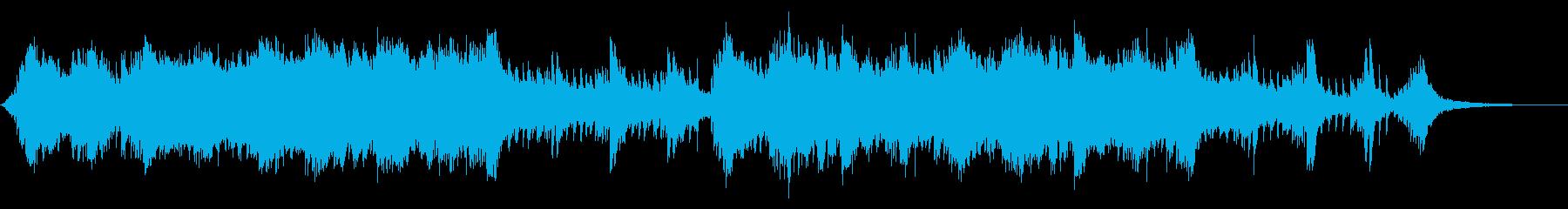 シネマティック エピック テクスチャーの再生済みの波形