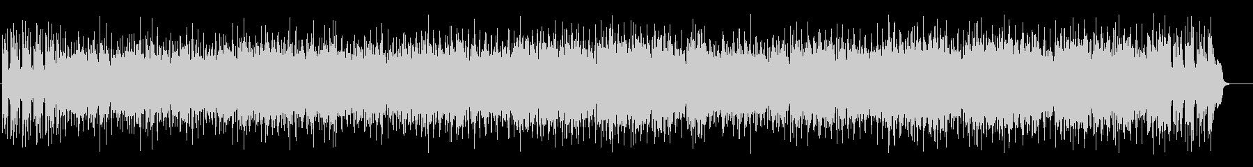 軽快なポップフュージョン(フルサイズ)の未再生の波形