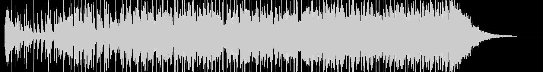 木琴が可愛いHAPPYでポップなBGMの未再生の波形