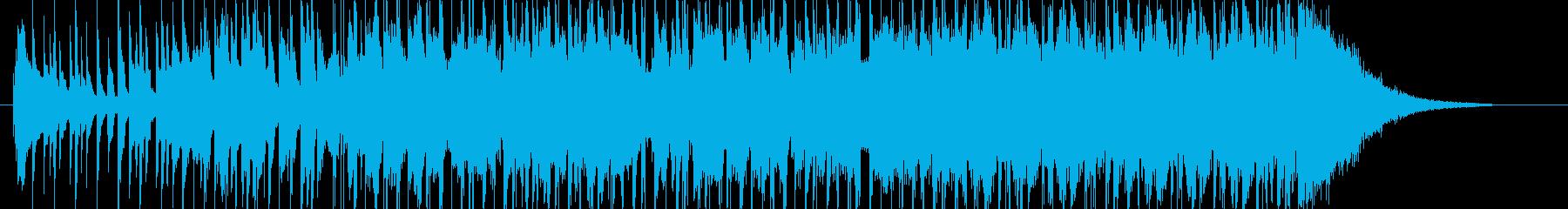 木琴が可愛いHAPPYでポップなBGMの再生済みの波形