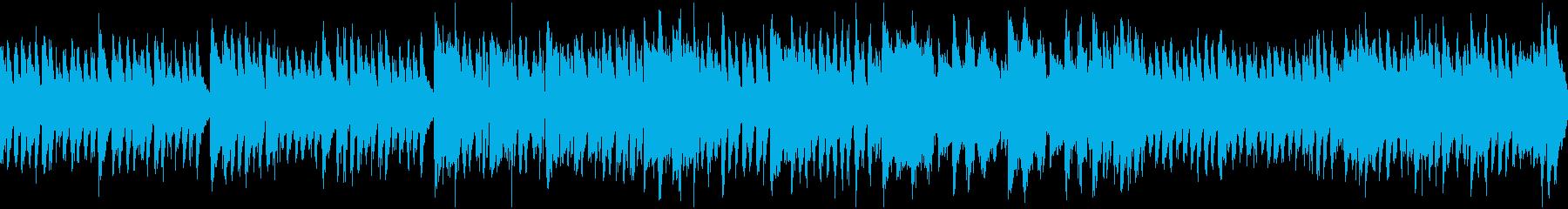 ダーク&コミカルなカーニバル(ループ)の再生済みの波形