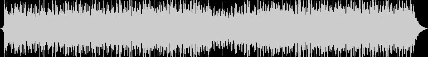 感フリーなアンビエントハウスミュージックの未再生の波形