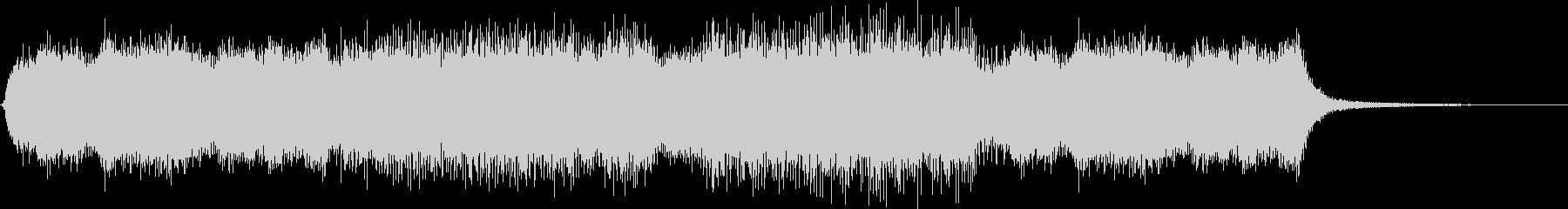 ガーン(バッドエンド、ゲームオーバー音)の未再生の波形