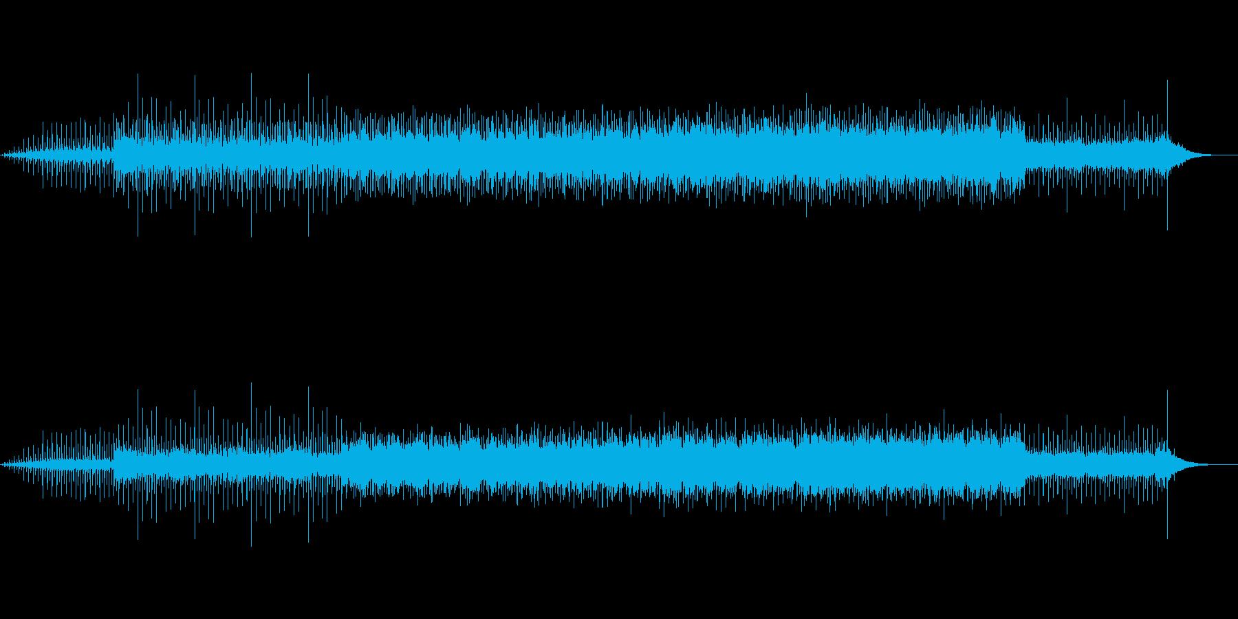 プレゼンテーション・ナレーション映像向けの再生済みの波形