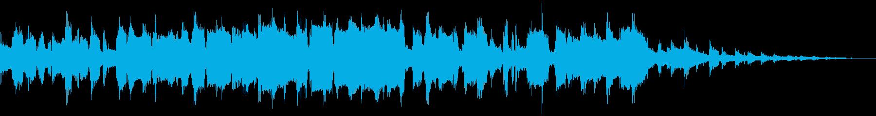 サックスによるジャズのブルースナンバーの再生済みの波形