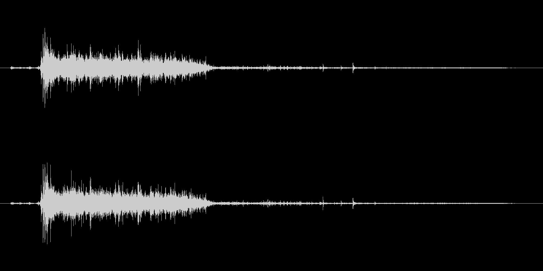 水 トイレフラッシュロング03の未再生の波形
