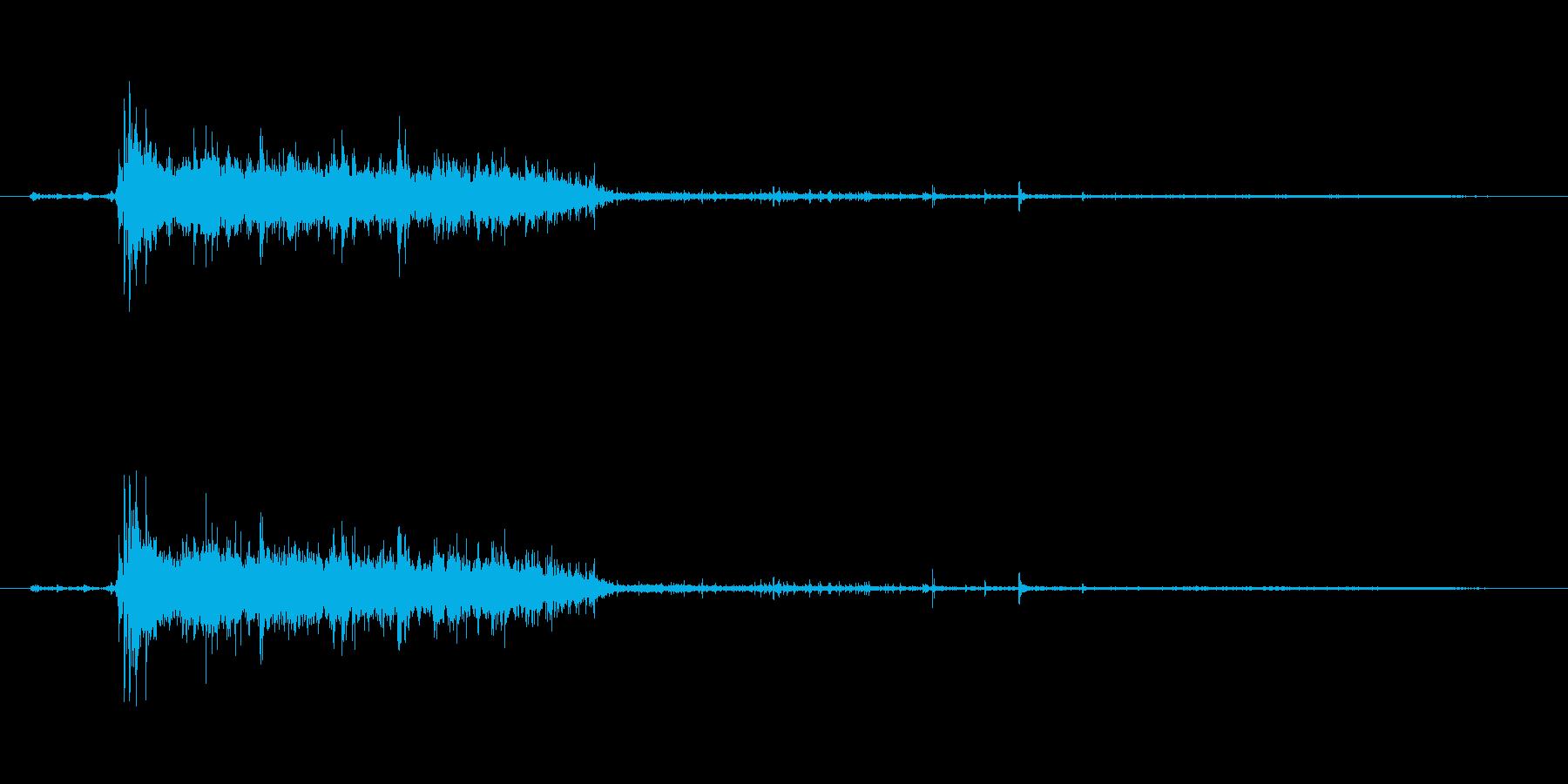 水 トイレフラッシュロング03の再生済みの波形