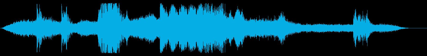乾燥トンネルの再生済みの波形