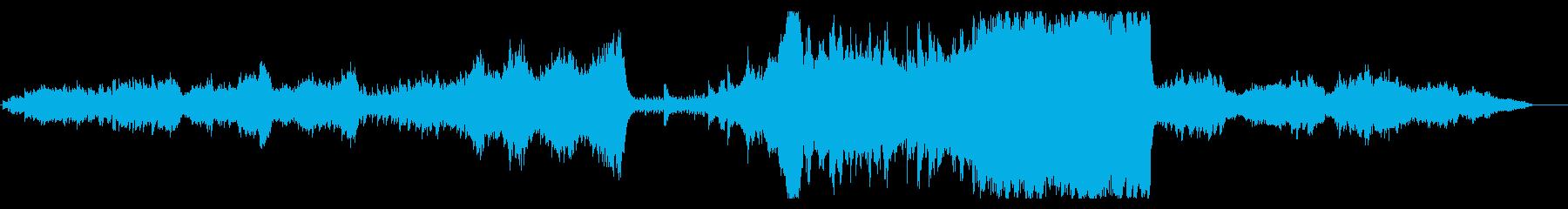 大自然壮大オーケストラ per syn無の再生済みの波形