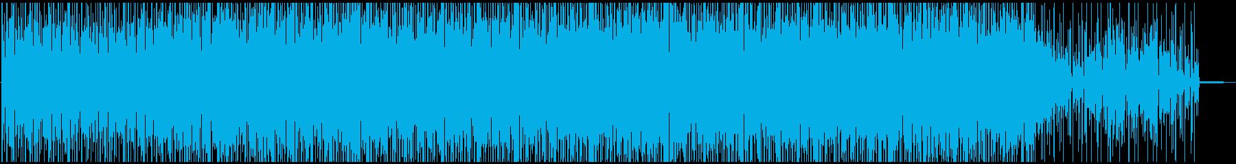 ジャズピアノソロが印象的なラテンハウスの再生済みの波形