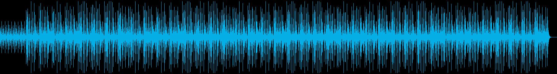 コミカル、かわいい、木琴、CMの再生済みの波形
