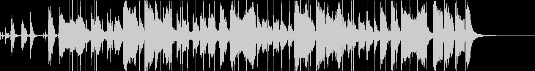 ブラス・カッティング、キレのあるファンクの未再生の波形