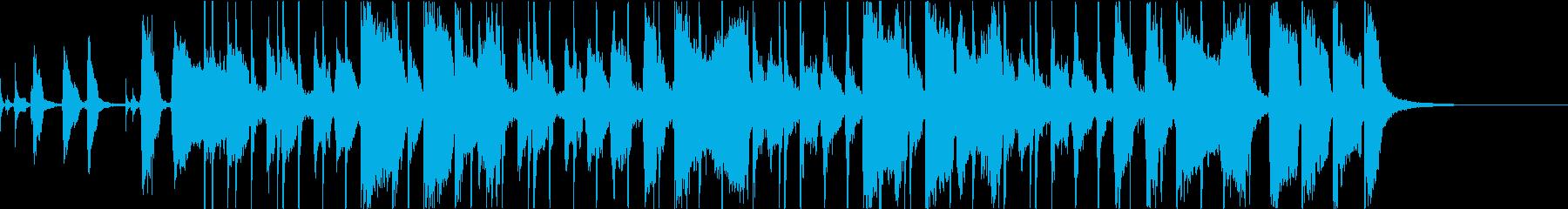 ブラス・カッティング、キレのあるファンクの再生済みの波形